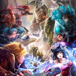 League of Legends Fanfiction - poster