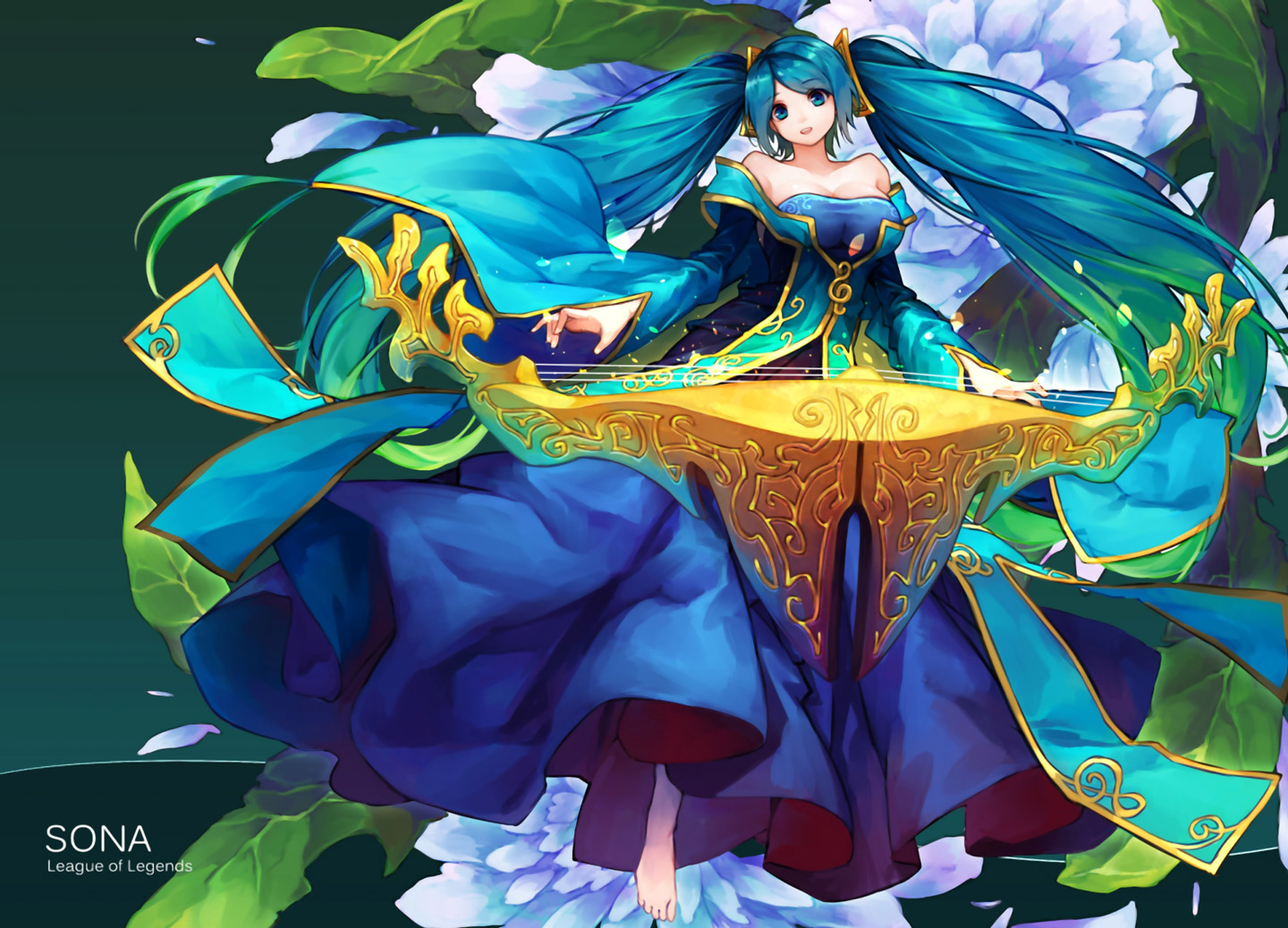 Sona - wallpaper